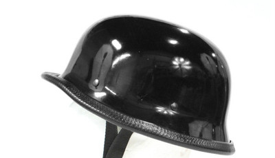 German shine novelty helmet