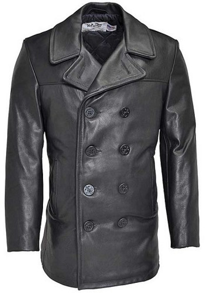 Schott Leather Naval Pea Coat