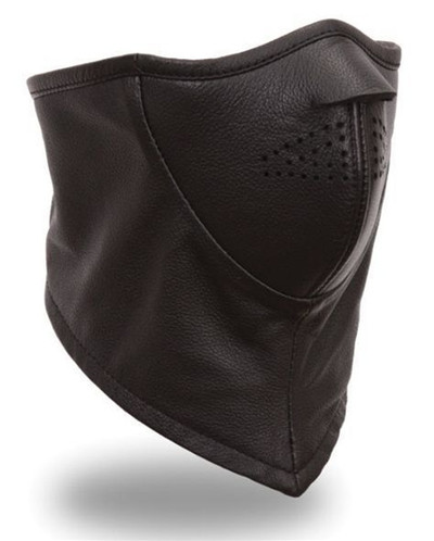 First Manufacturing Men's Leather Face Mask