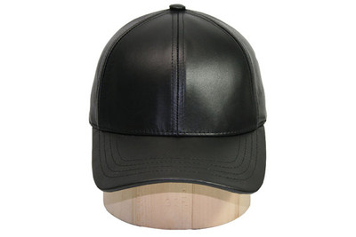 Genuine Cowhide Leather Baseball Cap Adjustable f5fd625c0bb4
