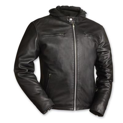 Men's Street Cruiser  Motorcycle leather jacket
