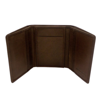 mens leather wallets brown