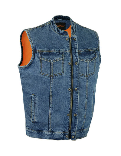 Blue Club  Denim Vest