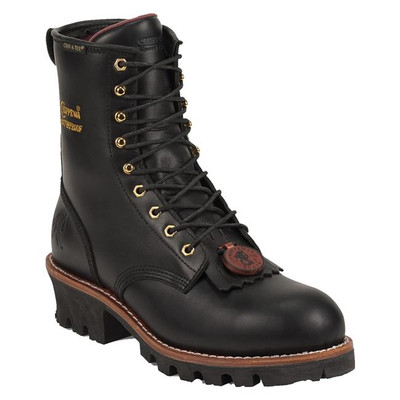 "Chippewa Boots 8"" Paladin 400G Steel Toe Black"
