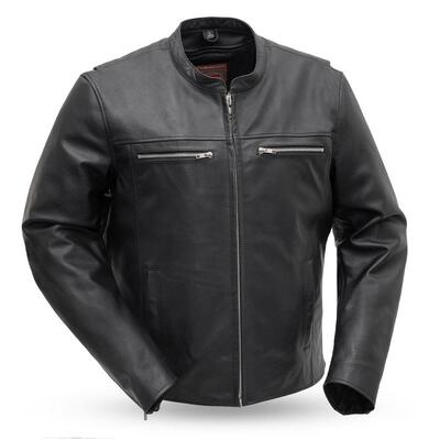 Rocky Men's Biker Leather Jacket
