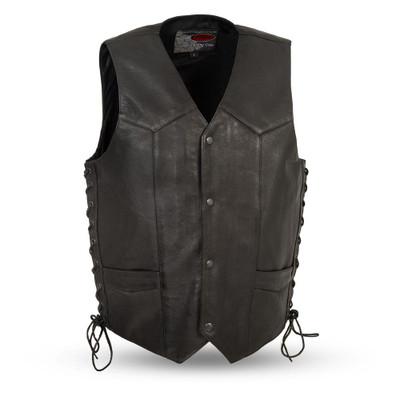 Rancher classics leather vest