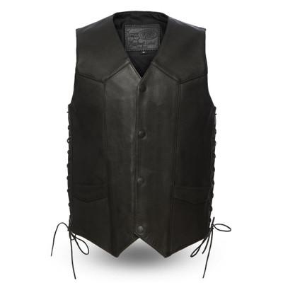 Men Classic Vest /side lace
