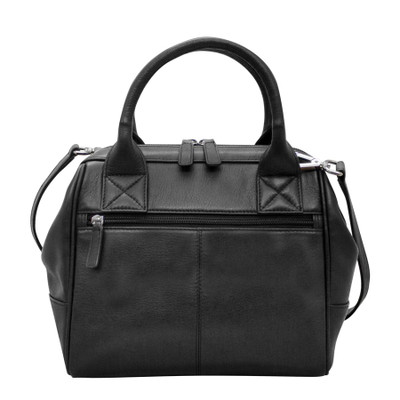 Satchel handles Adjustable and detachable shoulder strap.
