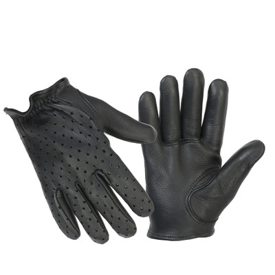 Perforated Police Style Glove