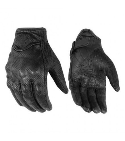Perforated Sporty Gloves