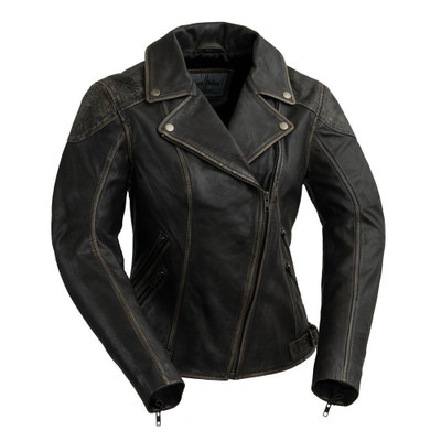 Stephanie Vintage Leather Jacket