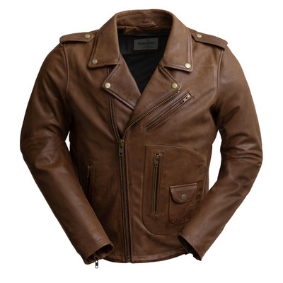 Sid Men Leather  Jacket