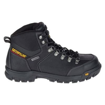 CAT Threshold Soft Toe Waterproof Boots Black