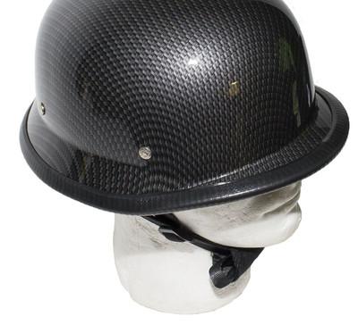 Replica Carbon Fiber German Novelty Helmet