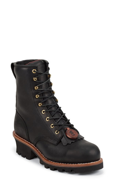 "Men's Chippewa Boots 8"" Baldor Steel Toe"