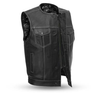 Bandit Men's Leather Club Vest