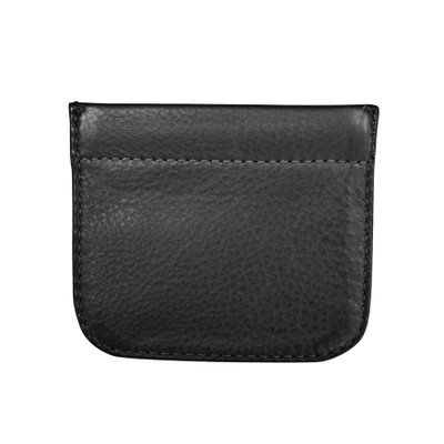 Leather squeeze coin purse