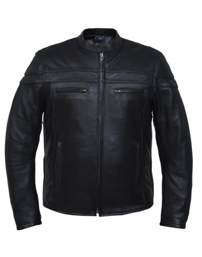 Men's Premium Jacket in soft Midweight leather