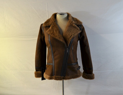 Ladies Lightweight Real Shearling Sheepskin Jacket