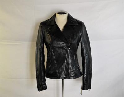 Ladies Leather jacket gloss