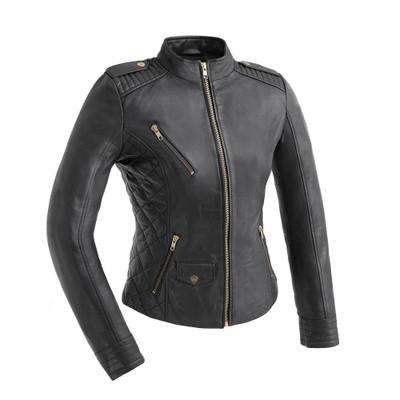 Madelin - Women's Fashion Leather Jacket
