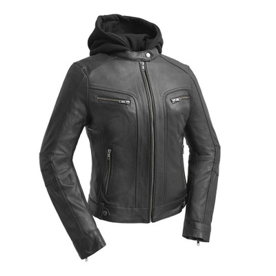 April-Women Leather Fashion Jacket