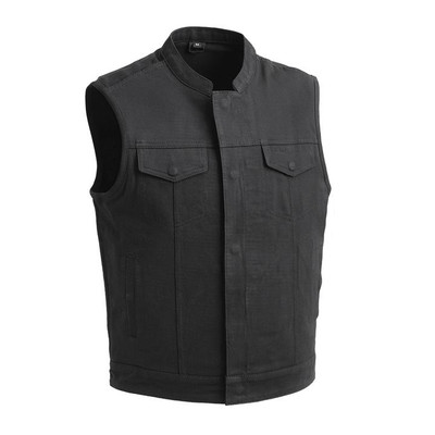 Havoc Twill Twill Men motorcycle vest