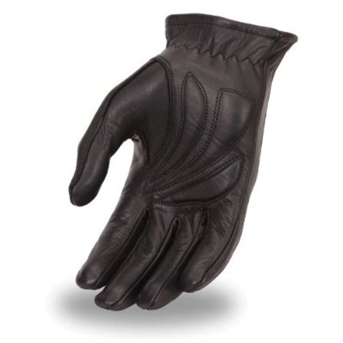 Women's Gel Palm Leather Driving Gloves.