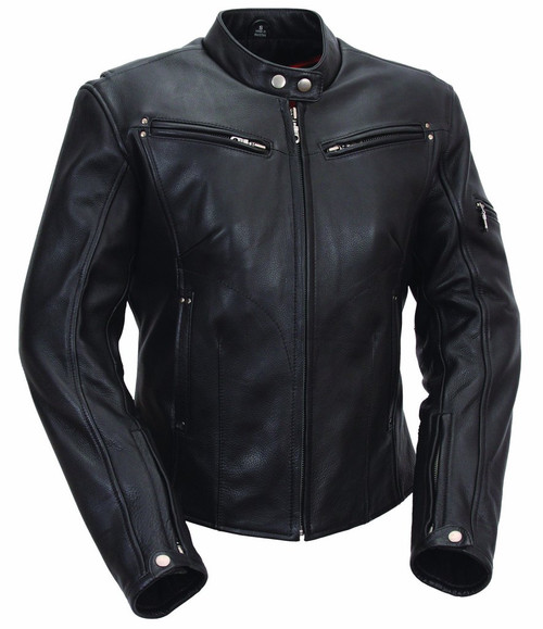"Ladie Sleek Biker soft naked Leather ""Athena"""