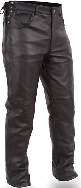 Men's Deep Pocket Leather Over pant Baron