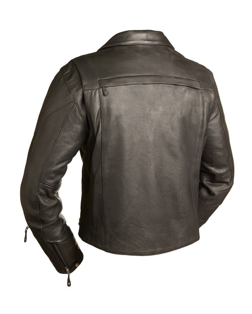 The 60s New Yorker Leather Jacket classic