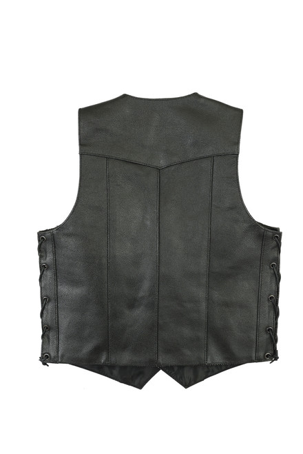 ids Traditional Style Side Lace Vest