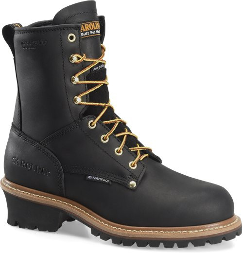 Carolina Insulated Elm Steel Toe Blacck