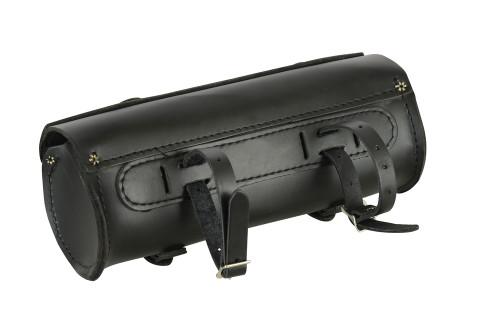 Premium Large Leather Round Tool Bag