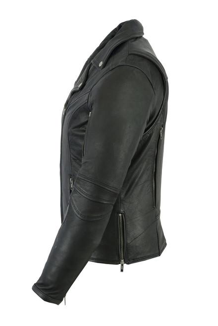 Women's Modern  Beltless Biker Jacket