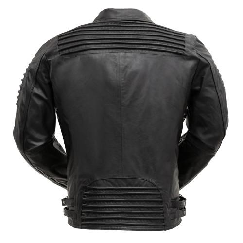 Brooklyn  Moto Inspired Lather Jacket