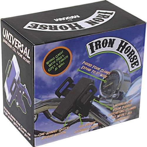 BKMOUNT Adjustable Motorcycle Phone Mount