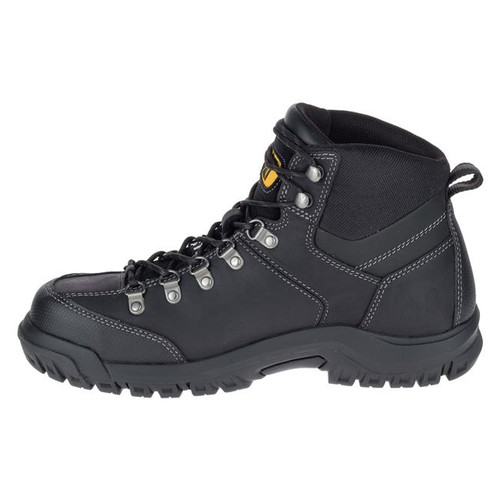 CAT Threshold Soft Toe Waterproof Boots Black