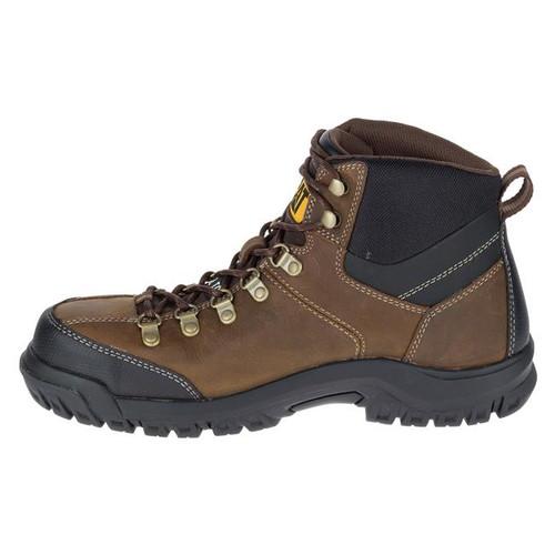 CAT Threshold Soft Toe Waterproof Boots Brown