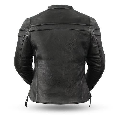 Maiden women biker jacket