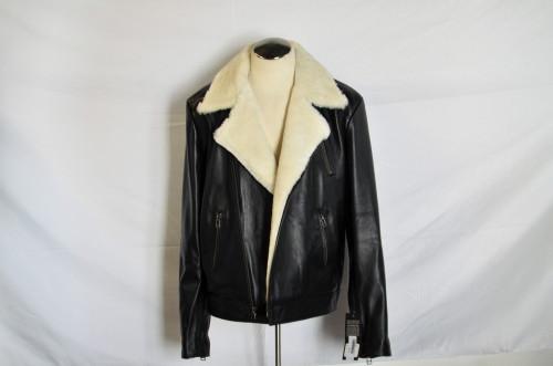 Moto Style Men Leather Jacket