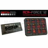 Switch-Pros RCR Force-12 switch panel
