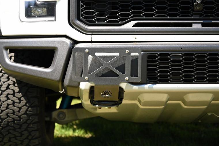 Ford Raptor License Plate Relocation Bracket