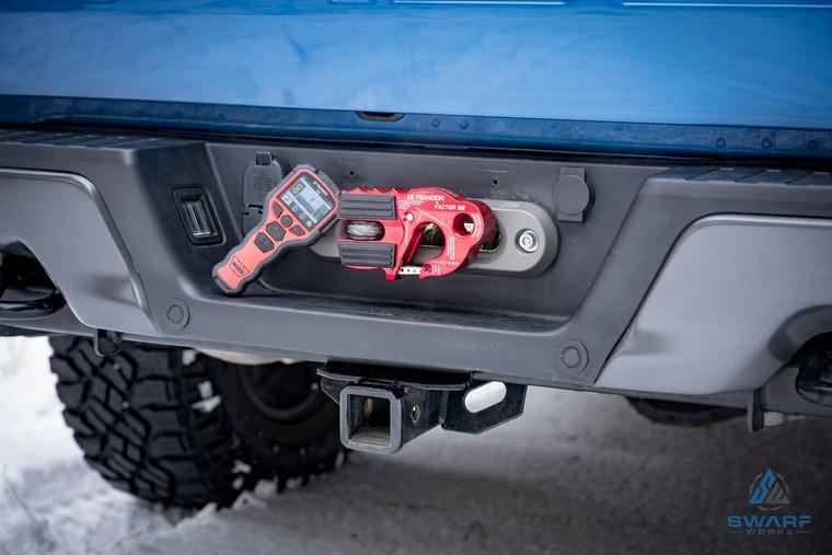 Ford Raptor Gen2 Hidden Rear Winch Mount