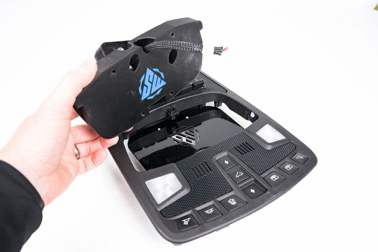 Ford F150 Raptor Overhead Console Switch-Pro Mount