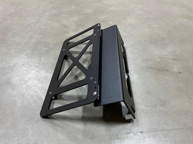 Folding License Plate Mount