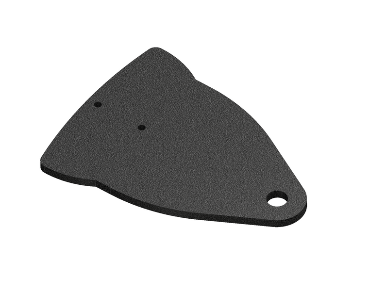 Dune Flag Mount Plate (NOT COMPLETE ASSEMBLY)