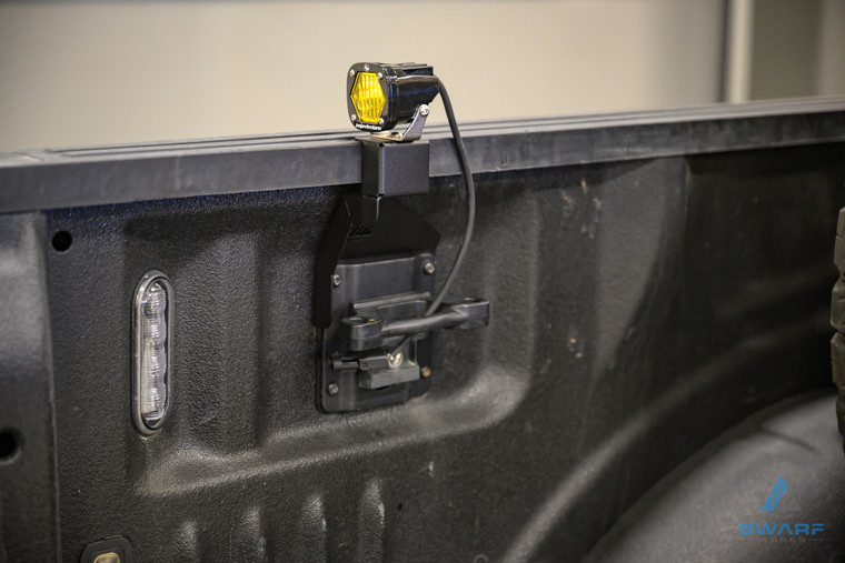 Ford Raptor/F150 Bedside Dust Light Brackets