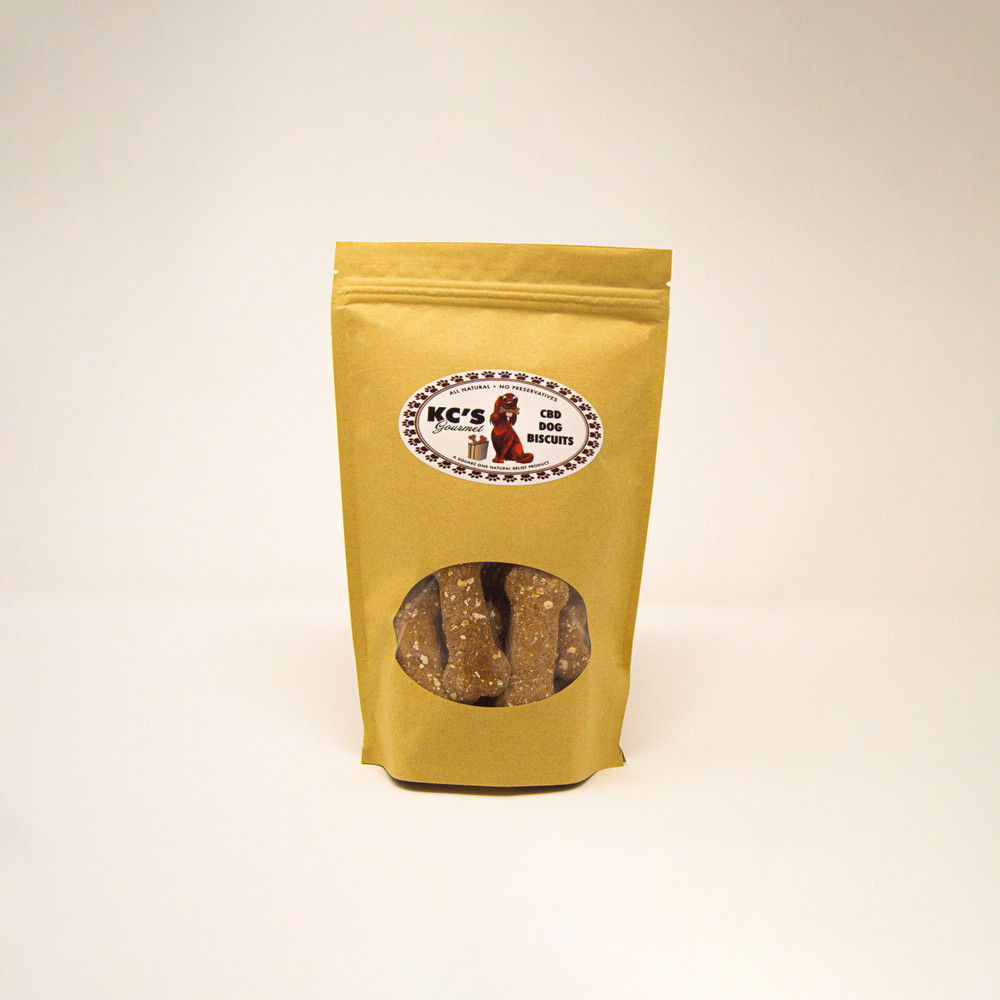 KC's Gourmet CBD Dog Biscuits