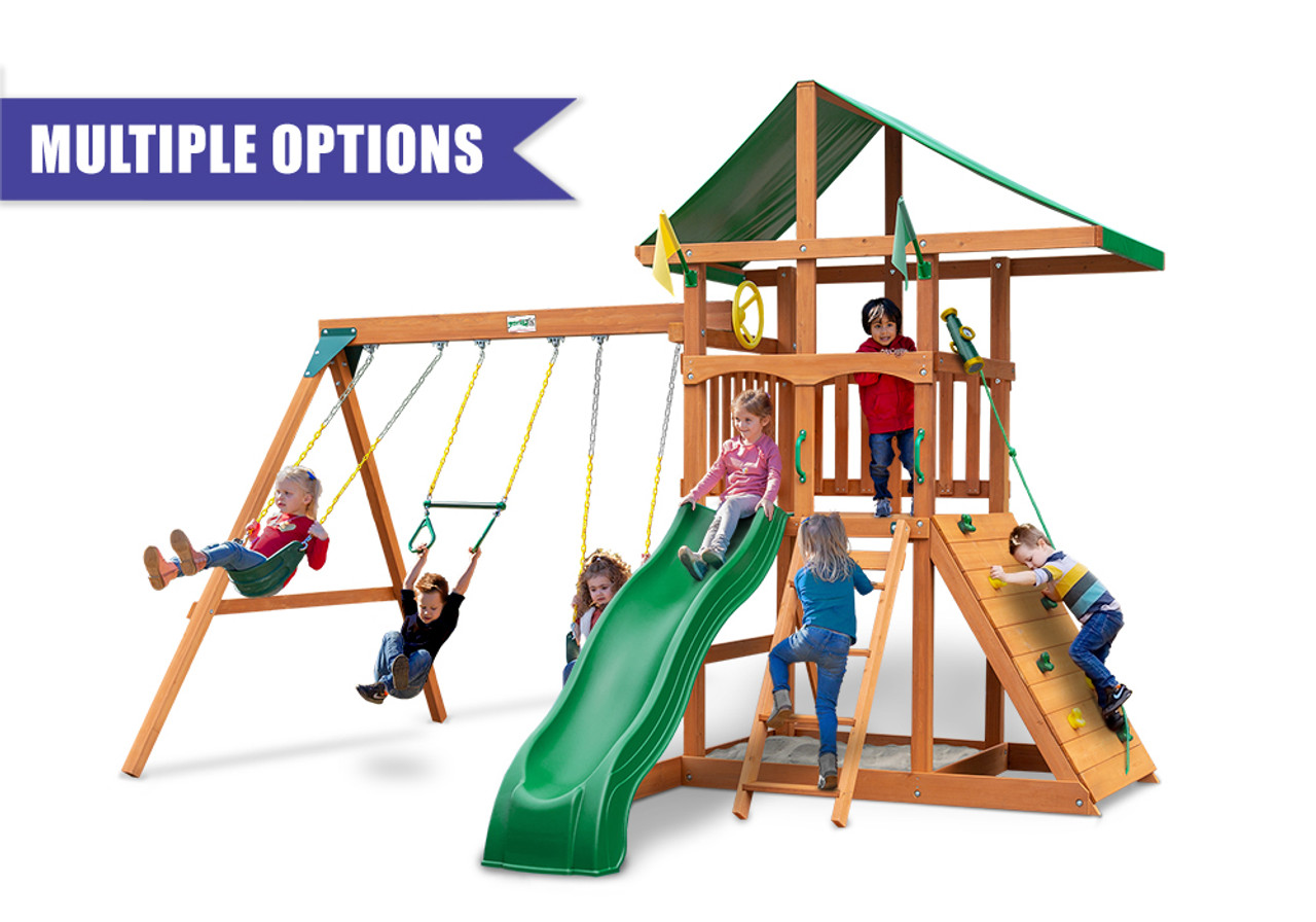 Outing Wooden Playset Wooden Outdoor Swingsets Swingworks